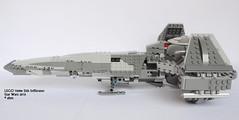 Star Wars LEGO 75096 Sith Infiltrator (KatanaZ) Tags: starwars lego r2d2 minifigs darthmaul watto quigonjinn anakinskywalker sithinfiltrator minifigures lego75096