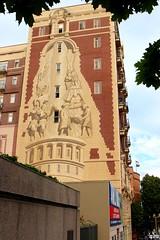 Mural in Portland (Thom Sheridan) Tags: city urban oregon portland downtown publicart 2015 thomsheridan