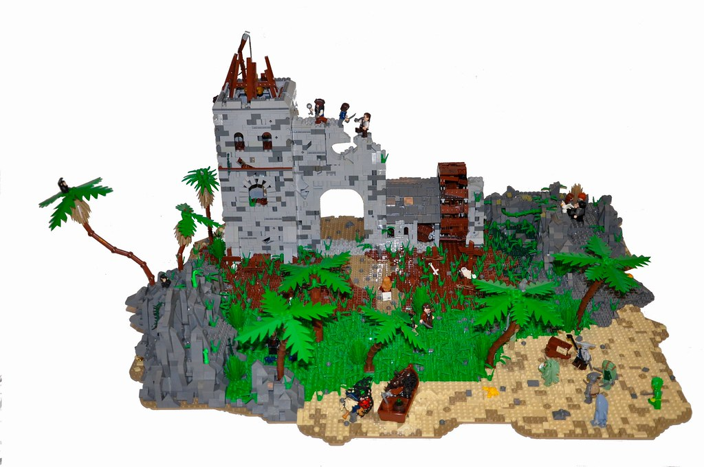 The world 39 s best photos of lego and piratesofthecaribbean flickr hive mind - Ile pirate lego ...