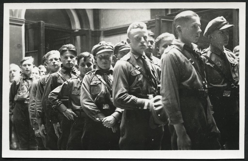 Hitlerjugend Frisur Madchen Frisure C