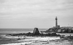 Pigeon Point Lighthouse - Pescadero, CA (nicklaborde) Tags: ocean california ca travel lighthouse west beach water point landscape lumix coast us unitedstates pigeon panasonic pch coastal april westcoast pescadero pacificcoast pigeonpointlighthouse 2015 500px gx7 lumixlounge lumixgx7