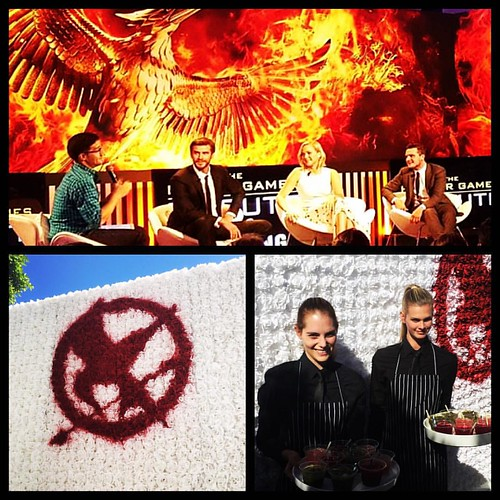 #TheHungerGames #mockingjaypart2 Global Fan Appreciation Event @samsungmobileusa #events #eventfam #eventlife @thefoodmatters @event_eleven #staffing #hollywood #fans #lovemyjob #girlboss #galaxylife #Halloween #200ProofLA #200Proof