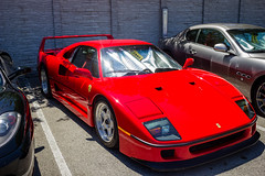IMG_3505 (Haifax.Car.Spotter) Tags: cars car sport race racecar florida miami ferrari fl legend supercar sportscar f40 superscars