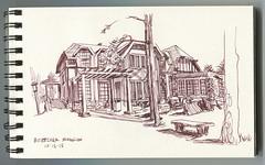 Boettcher Mansion (paul heaston) Tags: art notebook artwork drawing journal sketchbook location penandink urbansketching urbansketchers