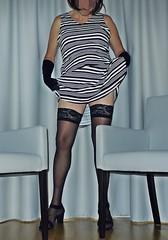 P1140706ZHN (gerda_slut) Tags: gay black sexy stockings tv highheels dress legs slut cd lingerie tgirl transgender lgbt tranny transvestite upskirt bisexual trans miniskirt crossdresser ts gurl gerda transsexual nylons shemale minirock fetisch kleid dwt holdups strmpfe halterlose schwanznutte