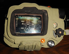 Pipboy4 (WiseCrackinDragon) Tags: world people game art make project computer fun diy video do steel crafts 4 interplay it foam rpg vault build bethesda brotherhood yourself prop nuke fallout iphone cospaly pipboy fallout4
