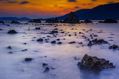 IMG_2225 (egor.gribanov) Tags: sunset sea sky canon thailand coast seaside rocks samui 2014 150wattru