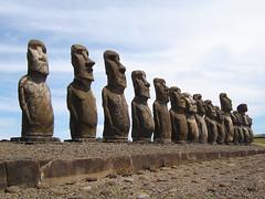 Easter Island, Ahu Tongariki, Chile