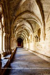 Visit to Monasterio de Santa Maria de Poblet (doublejeopardy) Tags: santa de spain maria catalunya cloister es monasterio montblanc monastry poblet lesplugadefrancolí monasteriodesantamariadepoblet