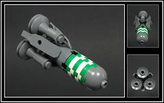 The Celestial Cheroot (Karf Oohlu) Tags: lego spaceship moc microscale microspacetopia cigarship