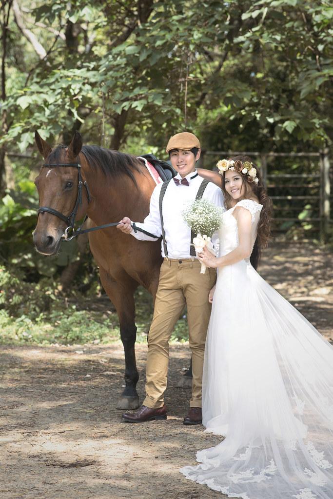 六福村婚紗 動物婚紗 長頸鹿婚紗 騎馬婚紗 犀牛