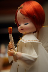 Angelic (Adam Maly) Tags: christmas music angel vintage candle box antique decoration