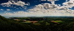 Minas Basin, Nova Scotia (craig_schenk) Tags: pano panoramic novascotia canada landscape canadianlandscape panoramiclandscape clouds cloudy wide view ocean water nikon d300 nikond300