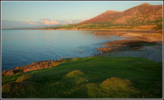 Trefor Bay. (Phil Dodd CPAGB BPE1*) Tags: sunset sea wales landscape coast gwynedd trefor llnpeninsula fujixt1