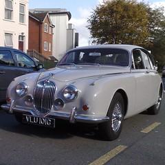 (uk_senator) Tags: 1969 grey mk2 jaguar 240