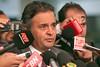 Aécio Neves - Entrevista sobre a prisão do senador Delcídio - 25/11/2015