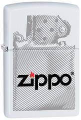 60002501 (fireshop_at) Tags: 214v20nometatif imageassets lighter lighterbasemodelsforbuildingcatalogimages matte white windprooflighter zippo whitematte