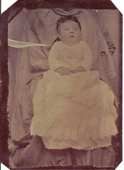 """Maud Hoskins Gribbins"" (ilgunmkr - Thanks for 4,000,000+ Views) Tags: tintype ferrotype baby babygirl hoskins gribbins maudehoskinsgribbins 19thcentury 1870"
