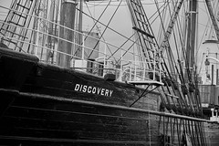 Discovery 10 (aylmerqc) Tags: rrsdiscovery discovery ship sail boat antarctic royalresearchship research polar scott shackleton drydock museum dundee scotland bw blackandwhite fujifilm xe1 fujinon1855mm