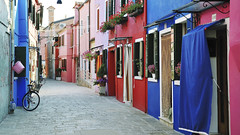 Colorful buildings in Burano island street Venice (Muhammad Syaiful Anam) Tags: pink architectural architecture attraction beautiful blue bright buldings burano city color colorful colourful contrasting day destination door dye europe european exterior facade historic house island italian italy lagoon multicolored nobody old outdoor paint picturesque port red residential scenic street summer tourism touristic traditional travel venetian veneto venice view wall window
