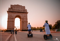 India Gate & Segway board (creati.vince) Tags: ancient architecture art craft creativince delhi indiagate monuments newdelhi segway hoverboard