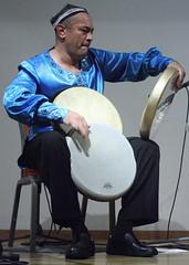 Abbos Kosimov (2016) 03 (KM's Live Music shots) Tags: worldmusic uzbekistan abboskosimov doyrauzbek framedrum handpercussion drums soasconcertseries soas