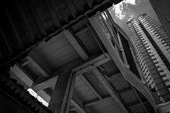 Building (Henry Sudarman) Tags: samsungnx nx nx10 blackandwhite hitamputih jakarta glodok indonesia