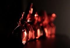 In a Row - Macro Mondays - Cherry Chocolates (kinaaction) Tags: inarow macromondays macro red chocolates cherrychocolates cherryinalcohol sonyilce6000 sweets food bokeh