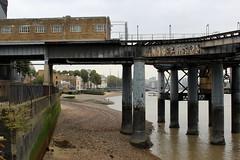 Pier at Greenwich (Walruscharmer) Tags: pier riverthames stilts greenwich greaterlondon england