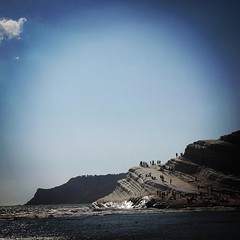 Scala dei Turchi from a distance down the beach #scaladeiturchi #sicily #italy #travel #geology #sea #mare #outdoors #nature #rocks (dewelch) Tags: ifttt instagram scala dei turchi from distance down beach scaladeiturchi sicily italy travel geology sea mare outdoors nature rocks