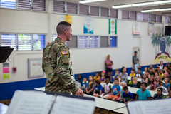 SGT Love (armymusichawaii) Tags: education music wheeler woodwind hawaii