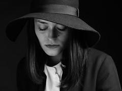 Under the Hat (drugodragodiego) Tags: guia portrait ritratto hat cappello woman girl blackandwhite blackwhite bw biancoenero pentax k1 pentaxk1 hdpentaxdfa2470mm hdpentaxdfa2470mmf28edsdmwr pentaxiani gusmerifineart