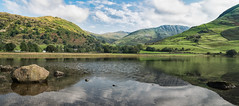 brotherswater pano (g a millington) Tags: nikon brotherswater cumbria lake lakedistrict landscape mountains nikond5300 pano panorama patterdale reflections brock crag fells