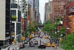 Manhattan Traffic (Gregor  Samsa) Tags: nyc newyork newyorkcity new york city usa unitedstates unitedstatesofamerica exploration town megalopolis may spring stroll strolling walk walking traffc manhattan street car cars rush rushhour