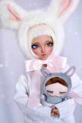 (4arllin) Tags: bjd minifee mnf chloe doll alpaca wig fairyland tan 4arllin