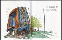 Salidas varias Croquiseros Urbanos de Buenos Aires / Several Croquiseros Urbanos de Buenos Aires outings: (ftessa) Tags: ftessa fedetessa croquis sketches sketch sketchbook urbansketchers croquiserosurbanos buenosaires argentina