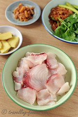 DSC_3589 s (travellingfoodies) Tags: teochewsharkmeatporridge sharkmeat teochew shovelnoseray mueh corianderleaves springonion cilantro ginger