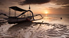 Chase Your Dreams (hendri.arba) Tags: pantai beach karang sun sunrise bali indonesia landscape lee gnd filter sand boat golden cloud pastel nature leefilter d7000 nikon tokina