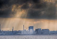 aarhus skyline (sren hansen) Tags: olympus omd em1 denmark cityscape