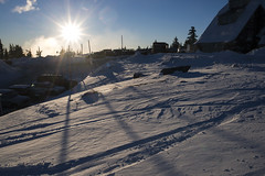 Snow (Curtis Gregory Perry) Tags: timberline lodge oregon snow sunset winter cold ice white light nikon d800e