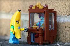 Fortunes (Frost Bricks) Tags: lego fortune teller machine moc banana