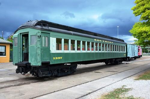"""Southern Railway"" No. 1397, Alabama, Huntsville, Huntsville Depot Museum"