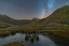 'Frozen Beneath The Stars' - Snowdonia (Kristofer Williams) Tags: night sky stars nightscape landscape ice mountains snowdonia milkyway wales astro astrophotography