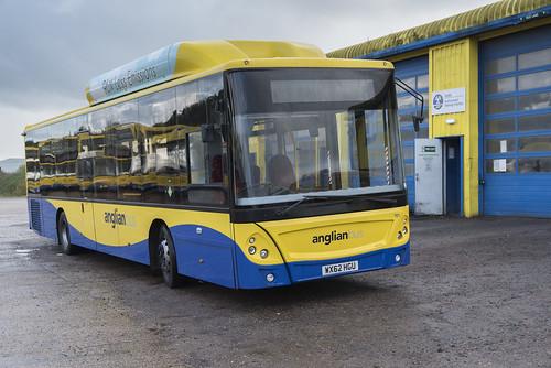 (062) Bus - Anglian - Man EcoCity - WX62 HGU - Beccles