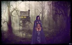 The Huntress (alexandra wardark) Tags: secondlife sl forest darkness coffeetime wewanttobefree jungle gor saariysqualitypictures