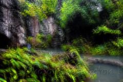 DSCF7165 (kingston Tam) Tags: waterfall river rapids sedimentaryrock stone ancientcity guizhou wetlandpark park canyon landscape naturallandscape mountain scenery streetscape oldfashioned streetphotography castle hawkers peddler fujifilmxt1