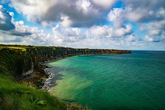 Last year I took a trip to France and visited the D-Day landing beaches. It was a super powerful experience to be there and if you ever get the chance to visit I highly recommend it. #france #normandy #dday #ww2 #beach #cliffs #ocean #powerful #beautiful (Evasion Art) Tags: ifttt instagram travel adventure freedom nature