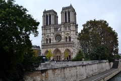 Katedra Notre-Dame (justynapiejko) Tags: notredame pairs france architecture