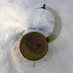 Erneuerbare Energie-renewable energy (Hobbyallradler) Tags: energie windrder windpark panorama kugelpanorama