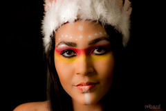 A tribo Guarani é a tribo com mais índios atualmente, cerca de 50 mil índios... Os Guarani vivem também no Paraguai, Bolívia e Argentina.  #hardphotographia #mulheresdepindorama #portrait #portraitfestival #makeup #indian #native #brazilianindian #culture (Hard Photo) Tags: mulheresdepindorama guajajara native studio ticuna photography culture portraitfestival authorial indian macuxi photo caingangue brazilianculture brazilianindian makeup potiguara ianomami tribe pataxo terena guarani portrait xavante hardphotographiapindorama